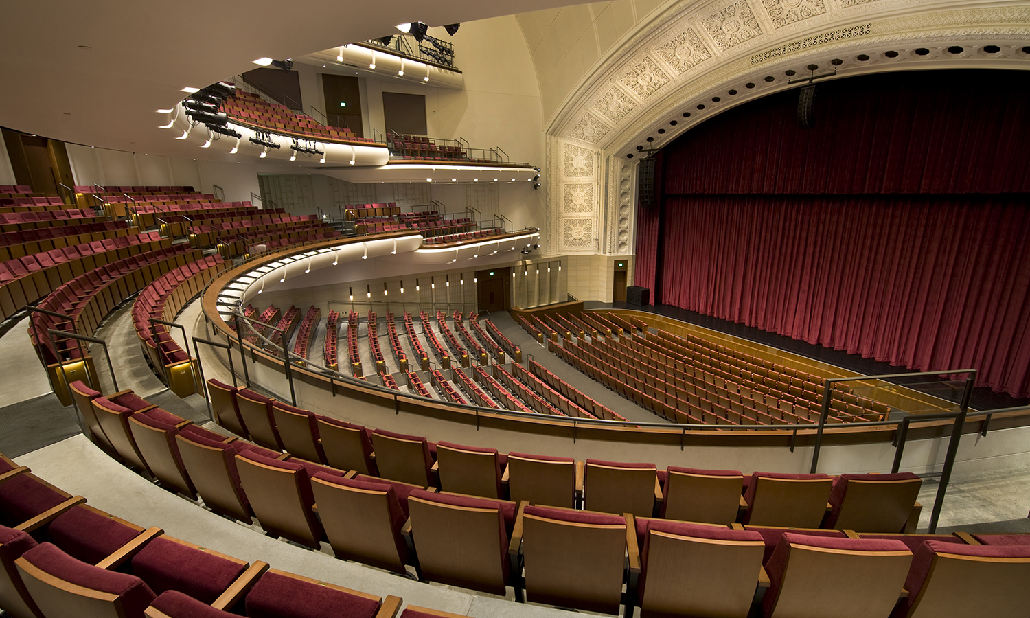 Series Seating Portfolio | Northrop Auditorium