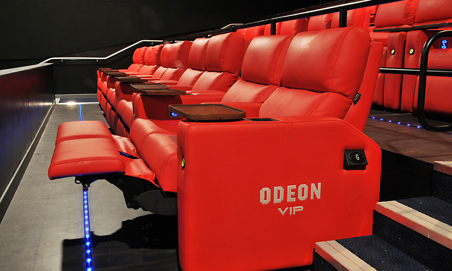 Odeon Telford Red Twin in Telford, UK, Custom Movie Theater Seat