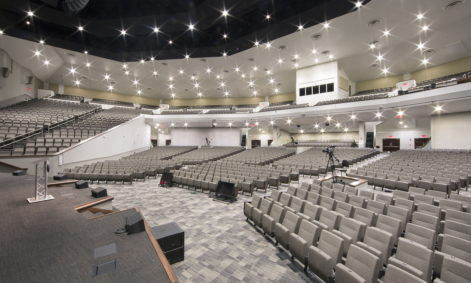 Jeremiah Chapel Cedarville University with Vera Seats by Series Seating