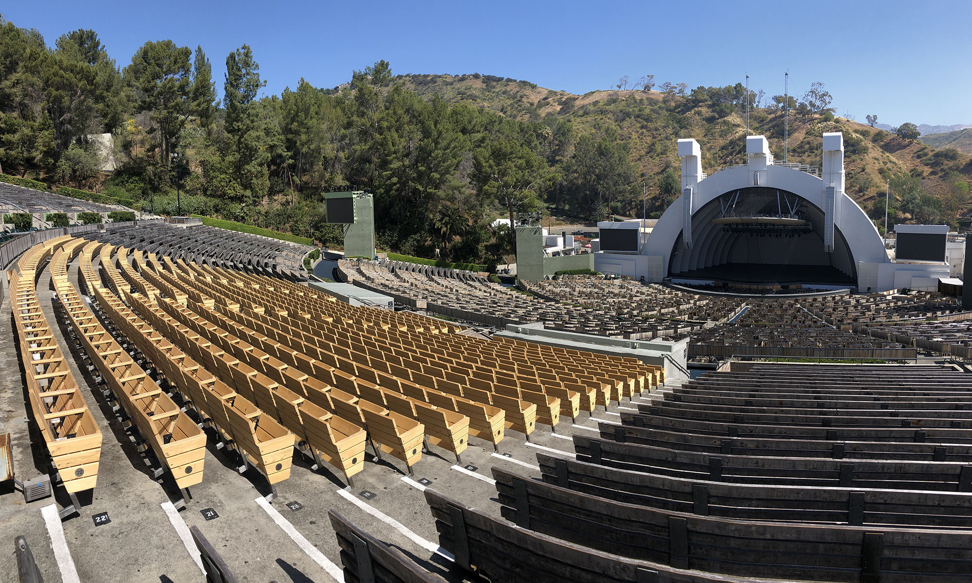 Hollywood Bowl Seating